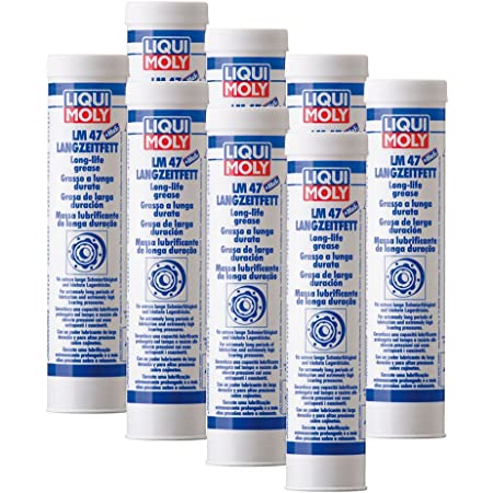 Liqui Moly 3520 Lm 47 Long Life Grease Mos2 400 G Pack Of 3 Auto