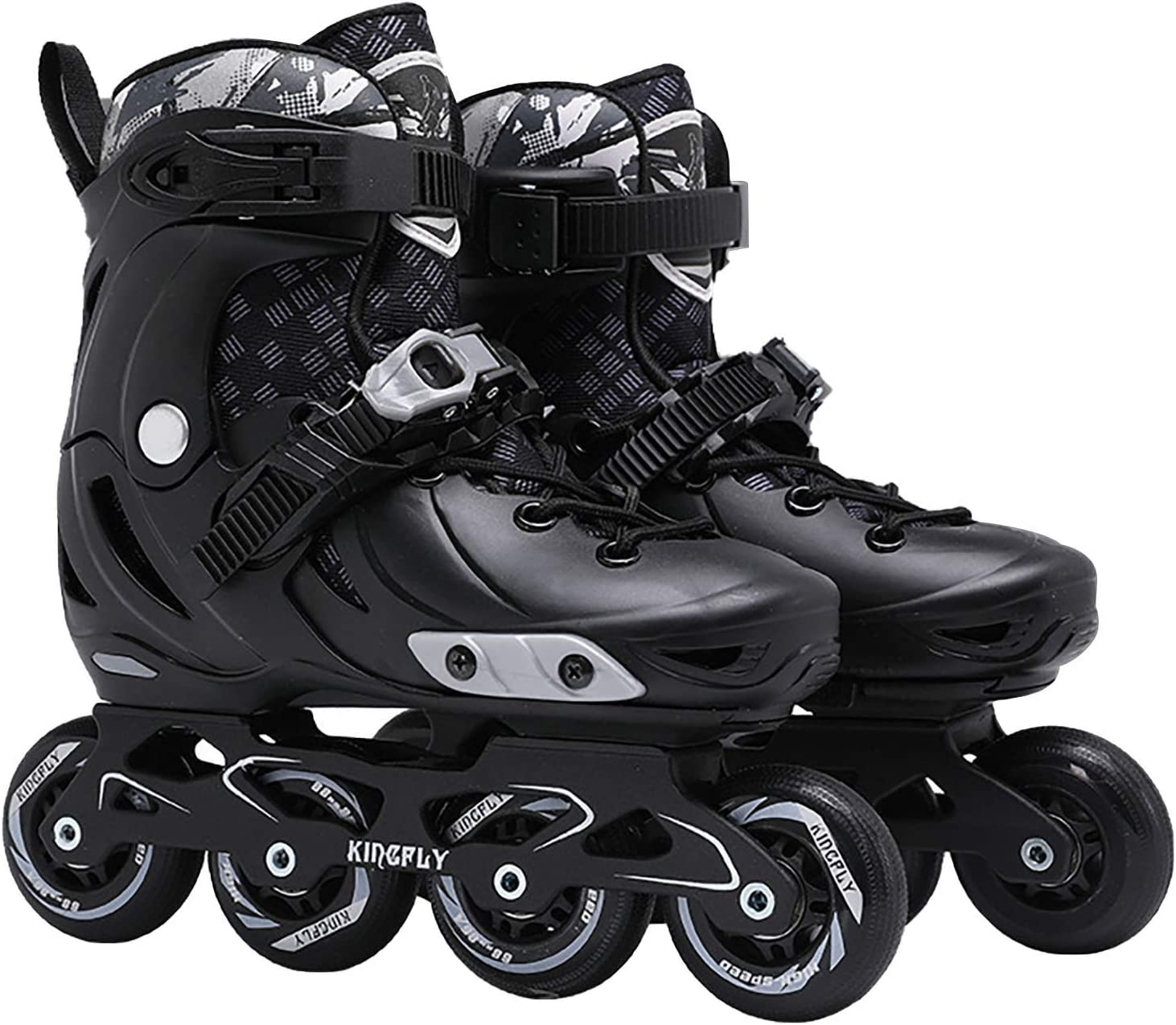 New product SALENEW very popular! Binory Inline Roller Skates 4- Quad Outdoor Indoor