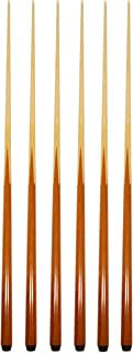 HAN'S DELTA Set of 6 Pool Cues 57