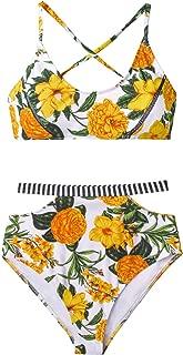 Women's Floral Paradise High Waisted Bikini