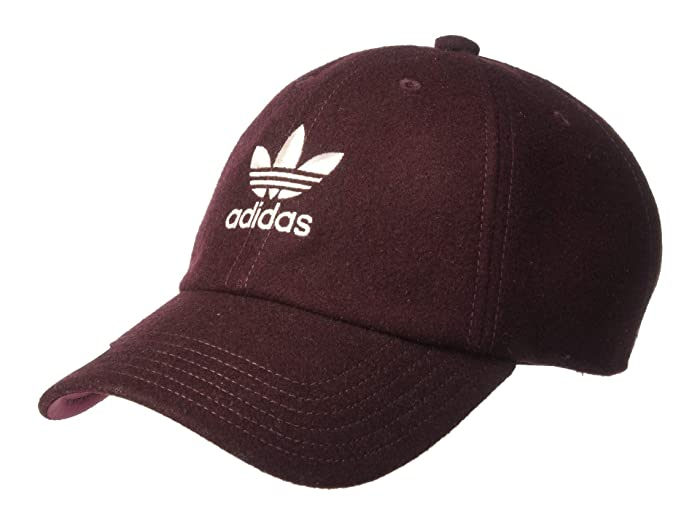 adidas Originals  Originals Relaxed Wool Strapback (Noble Red) Caps