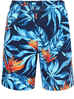 Pensura Women/'s Floral Printed Board Shorts Quick Dry Swim Shorts for Swimming