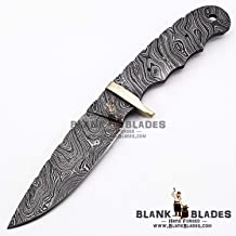 Hand Forged Damascus Steel Blank Blade 9.00