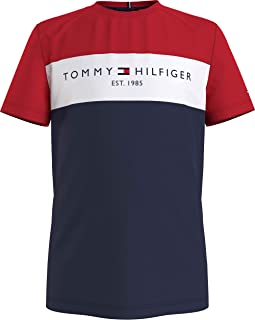 Tommy Hilfiger Essential Colorblock Tee S/S Camicia Bambino