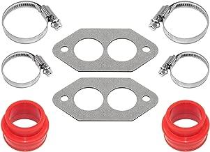 IAP Performance AC129367 Dual Port Intake Manifold Installation Kit for VW Beetle