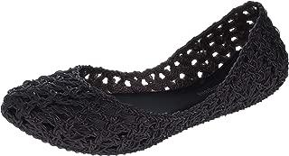 x Campana Crochet Flat Black Iridescent 6 UK (US Women's 8)