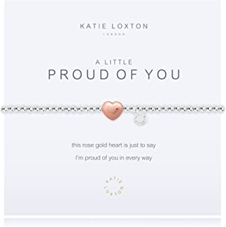 Katie Loxton A Little Reminder Silver Women's Stretch Adjustable Charm Bangle Bracelet