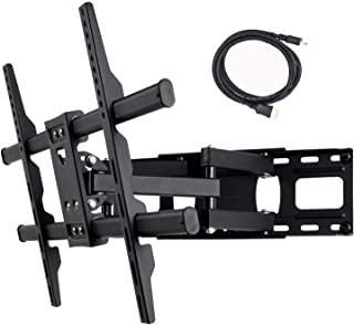"""VideoSecu MW380B5 Full Motion Articulating TV Wall Mount Bracket for Most 37""""-70"""" LED LCD Plasma HDTV Up to 125 lbs with V..."""