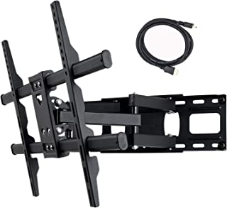 VideoSecu MW380B5 Full Motion Articulating TV Wall Mount Bracket for Most 37