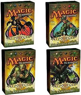 4 Decks Magic: The Gathering Alvorecer Wizard of the Coast SUIKA