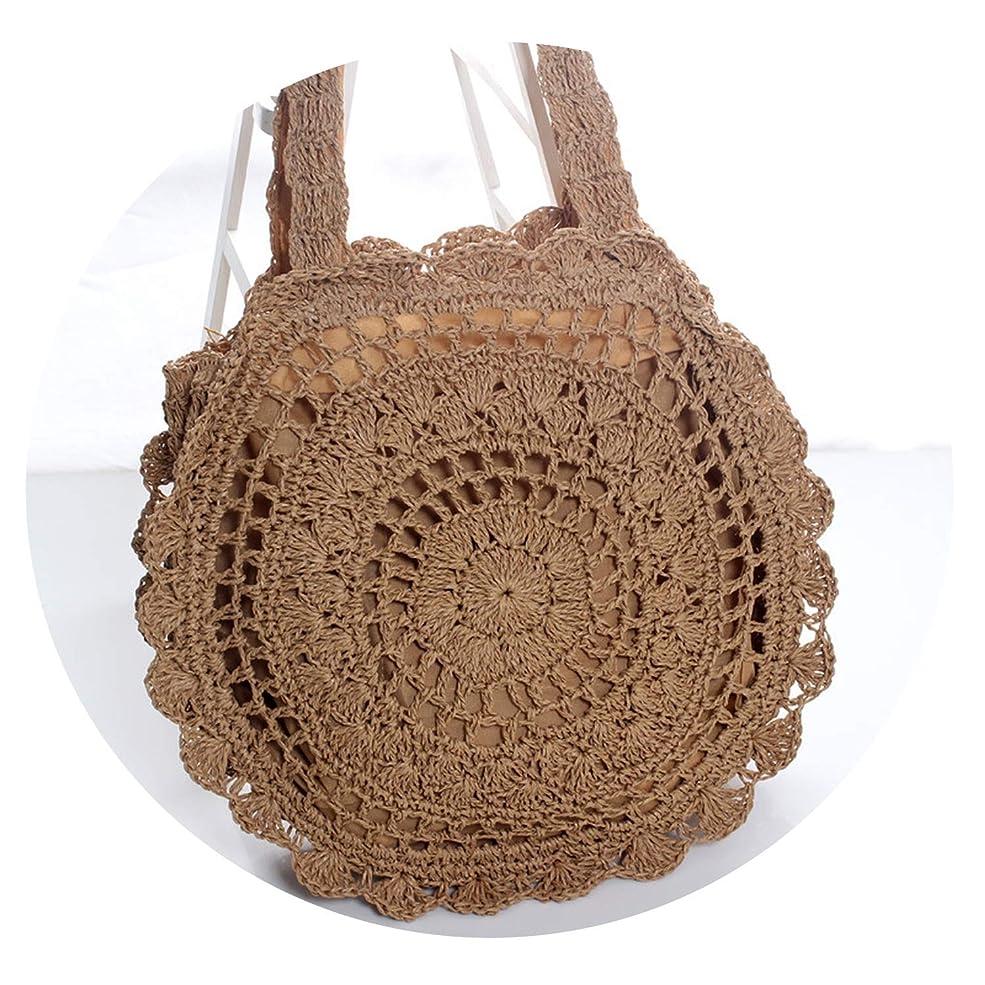 保護する虫不利ファッション紙ロープかぎ針編み大きな花わらバッグビーチバッグ織バッグ中空アート小さな新鮮な