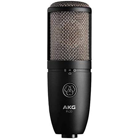 AKG Pro Audio P420 Dual Capsule Condenser Microphone, Black (3101H00430)