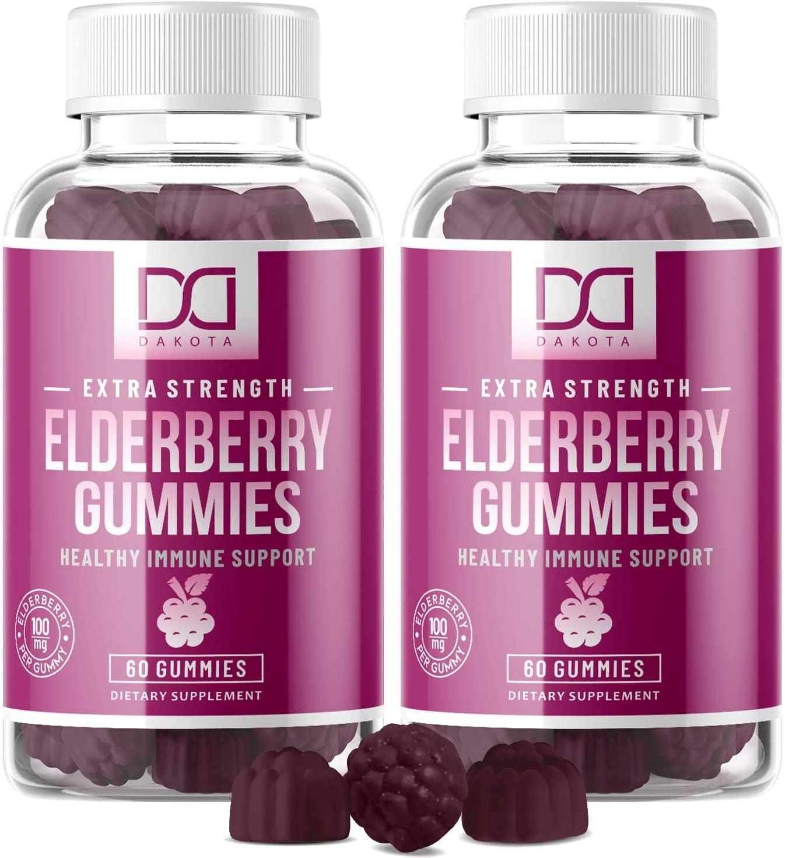 Sales results No. 1 Sambucus Elderberry Gummies Popular products with Zinc C for Vitamin Adults Kids