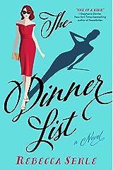 The Dinner List: A Novel Kindle Edition