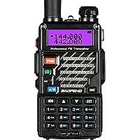 Baofeng UV-5R+ Plus UHF VHF Long Range Two Way Radio (Black)
