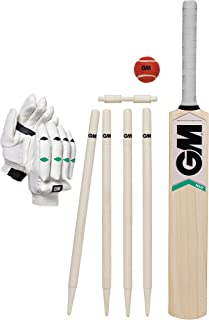 Gunn and Moore Maxi Kashmir Cricket Set - Green, Size 4