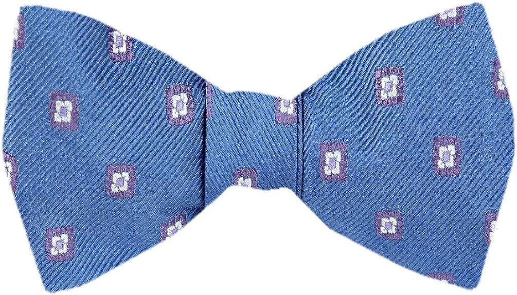 FBTZ-878 - Men's Silk Self Tie Bowtie Tie Yourself Bow Ties