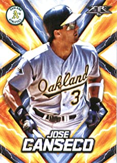 2017 Topps Fire #95 Jose Canseco Oakland Athletics Baseball Card