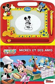 Phidal- Mickey et Ses Amis Disney Écrire et Dessiner, Français, Multicolore