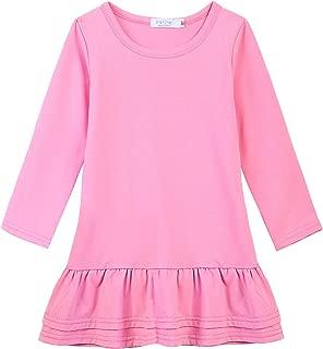 Best long sleeve drop hem dress Reviews