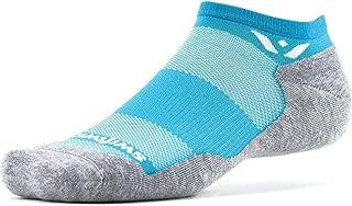 Swiftwick – MAXUS ZERO | Socks Built for Running, Walking, Golf | Maximum Cushion, Relaxed Compression, No Show