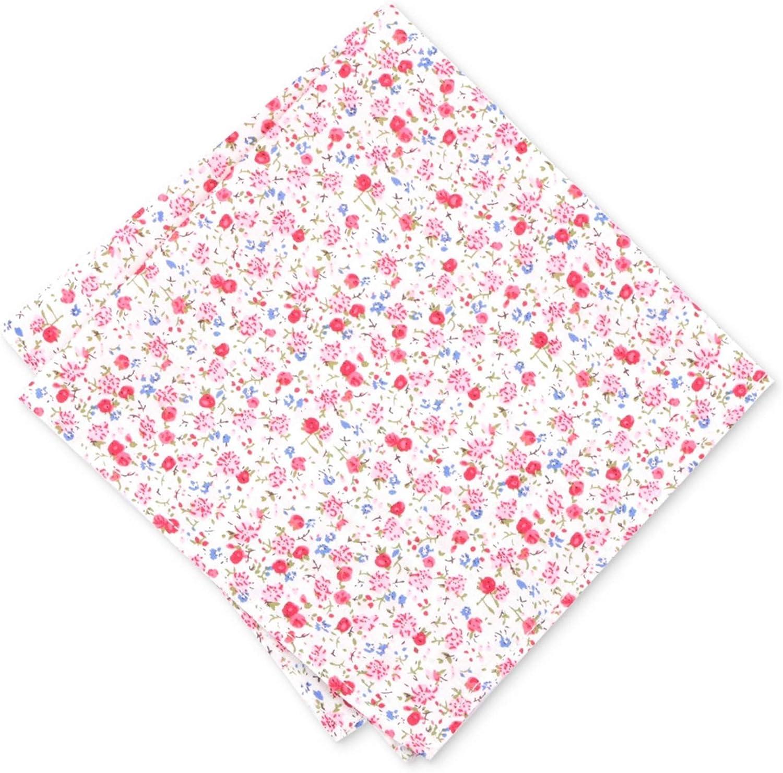 Bar Iii Mens Dahlia Floral Pocket Square