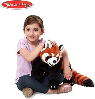 Melissa & Doug Lifelike Plush Red Panda Standing Stuffed Animal (2.5 Feet Long)