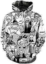 NOBRAND Disfraz de Cosplay My Hero Academy Sudadera con Estampado Digital 3D Boku no Hero Academia Todoroki Shoto