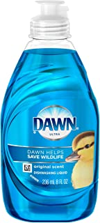 Liquid Dish Detergent, Dawn Original, 8 oz Bottle, 18/Carton