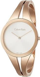 Calvin Klein Women's Analogue Quartz Watch with Stainless Steel Strap K7W2M616