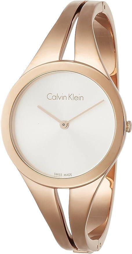 Calvin Klein 32000485 - Reloj analógico de cuarzo para mujer, acero inoxidable
