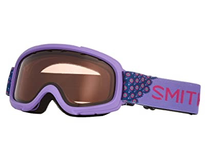 Smith Optics Gambler Goggle (Youth Fit) (Purple Peacocks/RC36/Extra Lens Not Included) Goggles