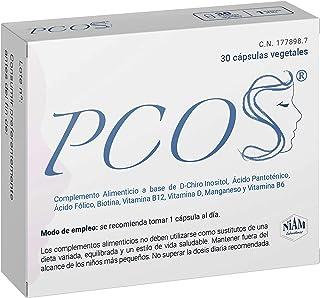 PCOS - Complemento alimenticio con D-Chiro Inositol. vitaminas y minerales - 30 cápsulas