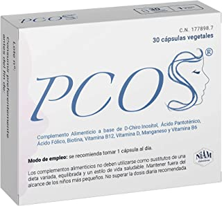 Ovario Poliquístico PCOS Cápsulas
