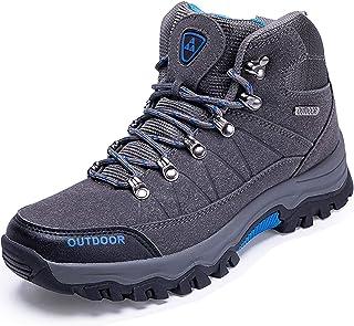 LSYSAG Chaussures de Randonnée pour Hommes, Bottes de randonnée Idéales pour Les Promenades, Escalade, Le Sport