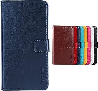 Case for Vivo Nex 3 5G Case Wallet Faux Leather Flip Case Card Slots Secure Magnetic Closure Lock Faux Leather Case Cover For Vivo Nex 3 5G(Dark blue)