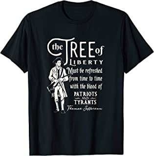 Patriotic Tree of Liberty Conservative Freedom T Shirt T-Shirt