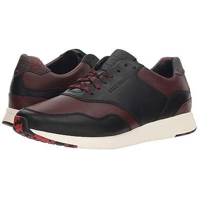 Cole Haan Grandpro Running Sneaker (Dark Coffee/Black/Ivory) Men