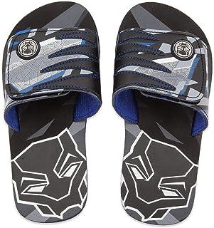 Shop Disney Marvel Black Panther Boy Sandals Flip Flops Size 11/12