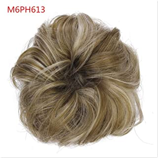 Synthetic Chignons Hair Scrunchies Extensions Hair Piece Wrap Ponytail Tail Updo Fake Hair Bun Hairpieces