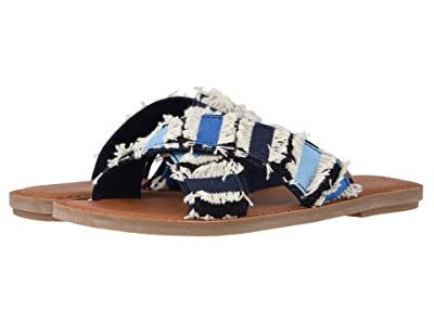 TOMS Viv (Navy Coupe Denim) Women