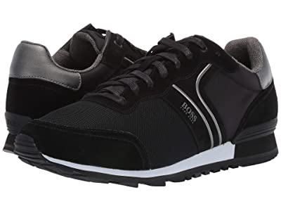 BOSS Hugo Boss Parkour Sneaker by BOSS (Black) Men