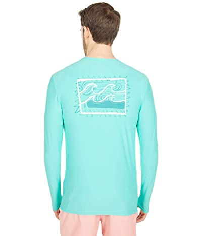 Billabong Crayon Wave Loose Fit Long Sleeve Surf Tee Men