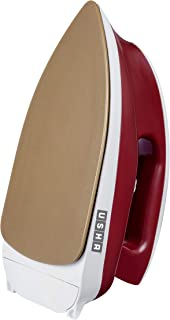 Usha Goliath GO1200WG Heavy Weight 1200-Watt Dry Iron, 1.8 Kg(Red)