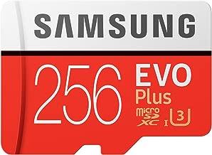 Samsung MC256GA/APC 256GB Evo Plus Class 10 UHS-I microSDXC U3 with Adapter