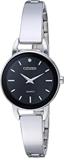 Citizen Women's Quartz Stainless Steel Casual Watch, Color:Silver-Toned (Model: EZ6370-56E)