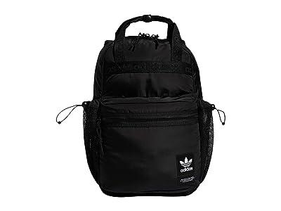 adidas Originals Originals Middie Backpack (Black/Black) Backpack Bags