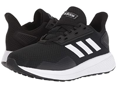 adidas Kids Duramo 9 (Little Kid/Big Kid) (Black/White) Boy