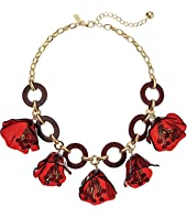 Kate Spade New York - Slice of Stone Link Statement Necklace
