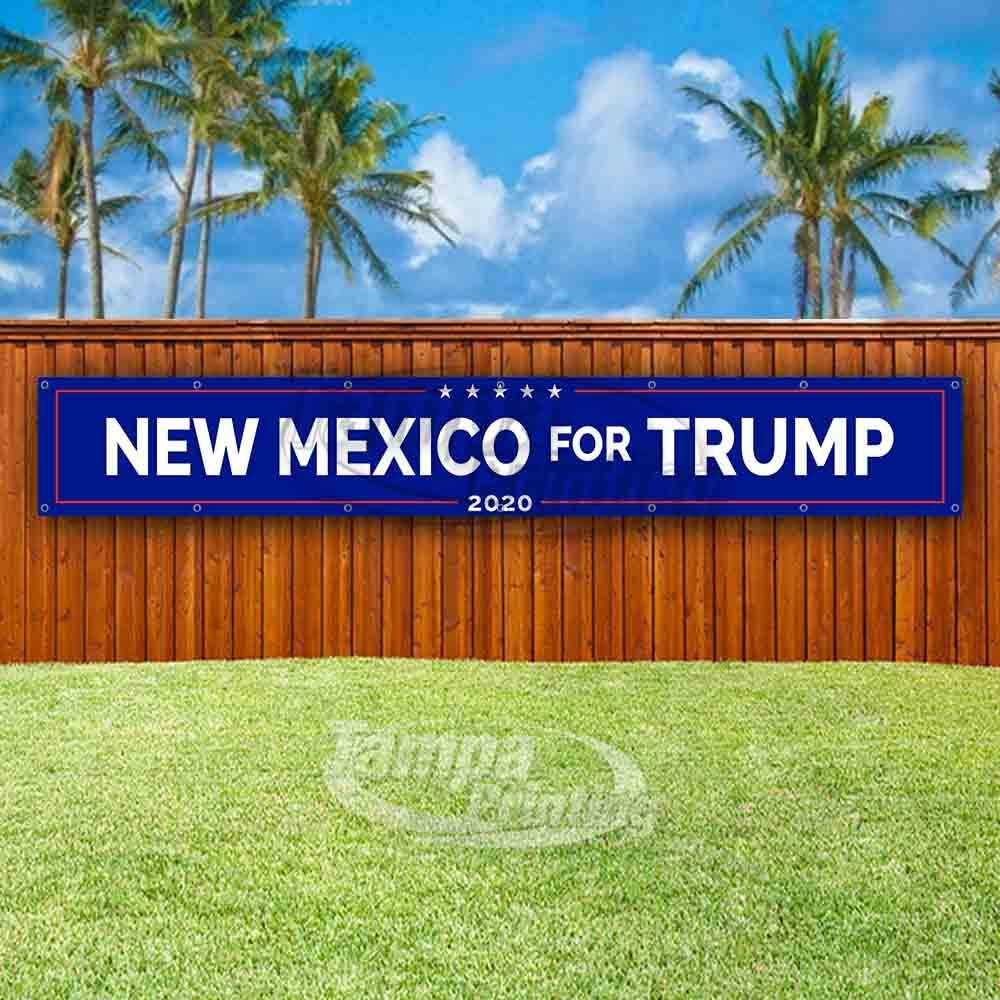 Non-Fabric New Mexico for Trump Extra Large 13 oz Banner Heavy-Duty Vinyl Single-Sided with Metal Grommets